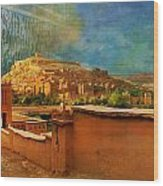 Ait Benhaddou  Wood Print by Catf