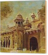 Aitchison College Wood Print