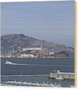 Alcatraz, C1998 Wood Print