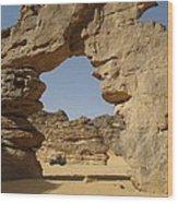 Algeria Desert Wood Print