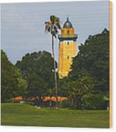 Alhambra Water Tower Wood Print