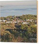 Alonissos Island Wood Print