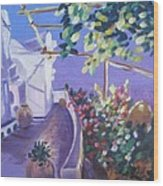 Amalfi Evening Wood Print