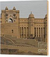 Amber Fort, India Wood Print