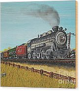 American Express Wood Print