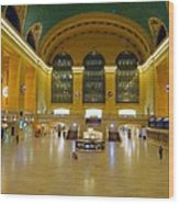 2 A.m.grand Central Station  Wood Print