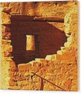 Anasazi Ruins Wood Print