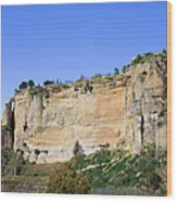Andalusia Landscape In Spain Wood Print