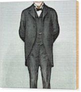 Andrew Carnegie (1835-1919) Wood Print