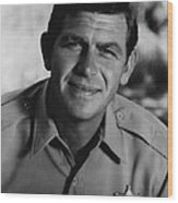 Andy Griffith Wood Print by Retro Images Archive