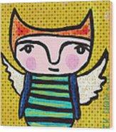 Angel Boy #1 Wood Print