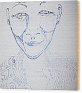Angel Madiba - Nelson Mandela Wood Print