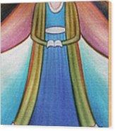 Angel Of Destiny Wood Print