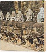 Angkor Thom Wood Print