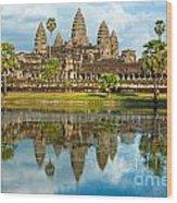Angkor Wat - Cambodia Wood Print
