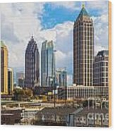 Atlanta - Georgia - Usa Wood Print