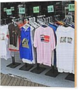 Atlantic City New Jersey - Boardwalk Wood Print