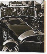Auction Sale Last Ride Adolf Hitler's Model 770-k 1941 Mercedes-benz Touring Car Scottsdale Az 1973 Wood Print