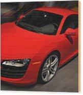 Audi R8 Wood Print