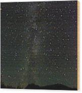 Aurora Borealis, Kantishna, Alaska Wood Print