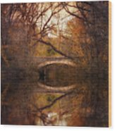 Autumn's End Wood Print