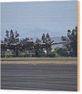 B-17 Flying Fortress Wood Print