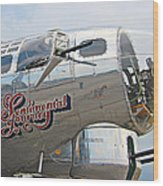 B17 Flying Fortress Wood Print