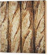 Baguettes Wood Print