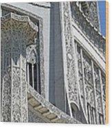 Bahai Temple Wilmette Wood Print
