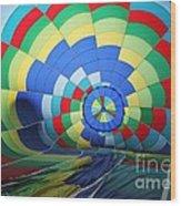 Balloon Fantasy 22 Wood Print