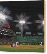 Baltimore Orioles V Boston Red Sox 2 Wood Print