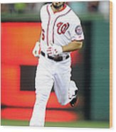 Baltimore Orioles V Washington Nationals 2 Wood Print