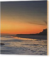 Bamburgh Castle At Sunrise Wood Print