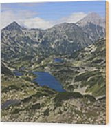 Banderishki Lakes Pirin National Park Bulgaria Wood Print