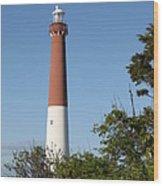 Barnegat Lighthouse Wood Print