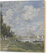 Bassin D'argenteuil Wood Print