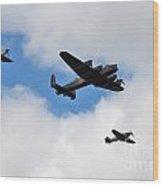 Battle Of Britain Memorial Flight Wood Print