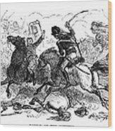 Battle Of Cowpens, 1781 Wood Print