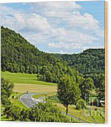 Bavaria Wood Print