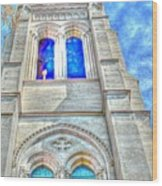 Beautiful Church Wood Print