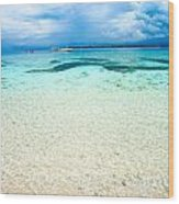 Beautiful Sea At Gili Meno - Indonesia Wood Print