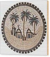 Bedouin Hut Wood Print