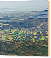 Beit Netofa Valley, Galilee Wood Print