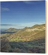 Belgodere In Corsica Wood Print