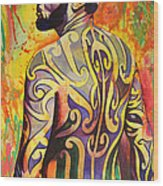 Ben Harper Wood Print