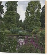 Beth Chatto Gardens Wood Print