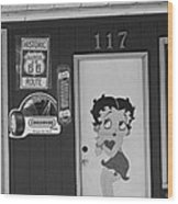 Betty Boop 2 Wood Print