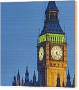 Big Ben London Wood Print