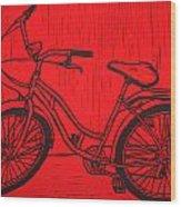 Bike 5 Wood Print by William Cauthern