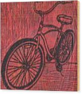 Bike 6 Wood Print by William Cauthern